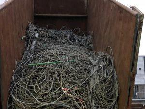 Oude kabel prijs